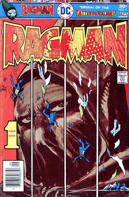 Ragman v1 #1, 1976 dc bronze age comic book cover