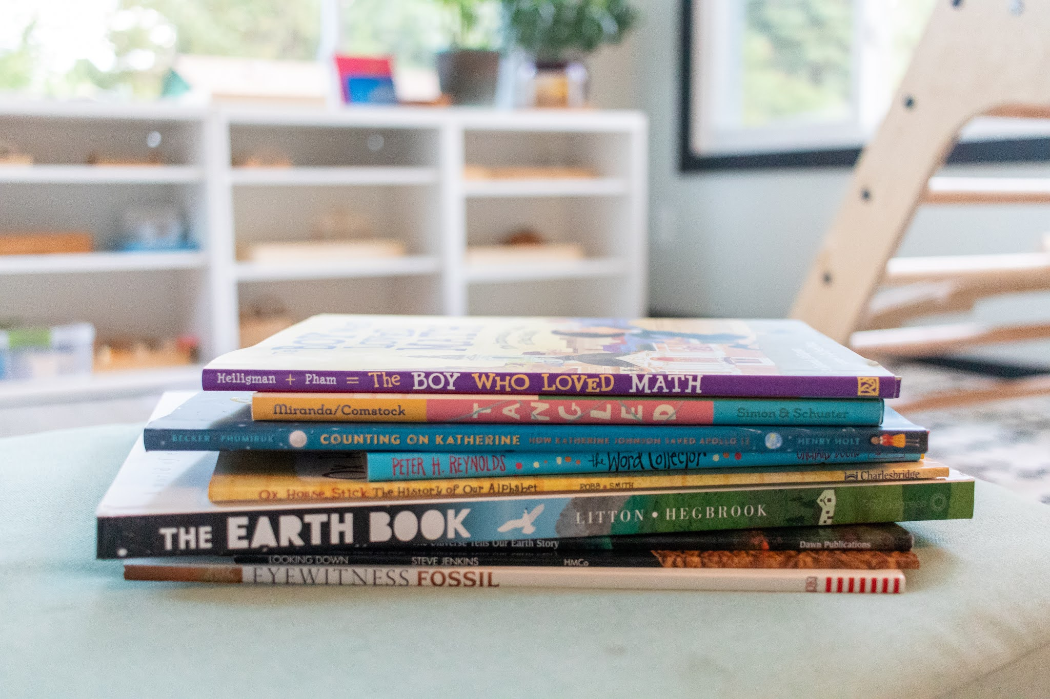 Picture books that help to explore the Montessori great lessons with elementary aged children.