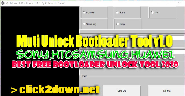 Best Multi Tool 2020.Muti Unlock Bootloader Tool V1 0 Best Bootloader Unlock