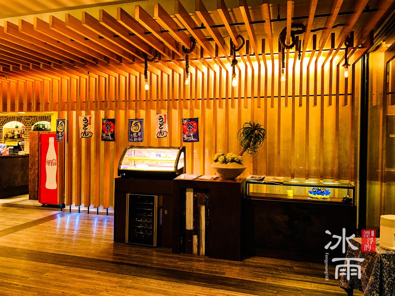陽明山天籟渡假酒店|餐廳內櫃檯