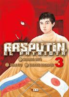 Rasputín, el patriota #3 - ECC Ediciones