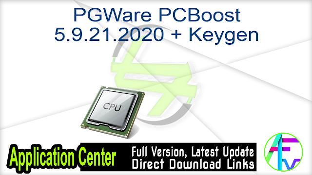 PGWare PCBoost 5.9.21.2020 + Keygen