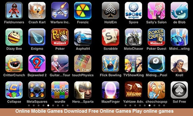 Online Mobile Games Download Free Online Games Play Online