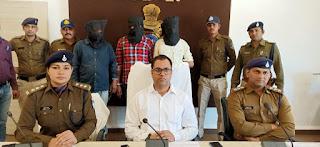 धामनोद पुलिस को मिली बड़ी सफलता, सर्राफा व्यापारी के साथ लूटपाट करने वाले आरोपी माल और नगदी राशि के साथ धराए