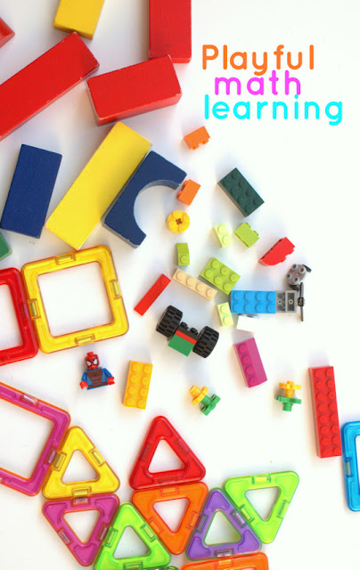 Playful and Easy Mathematics with Building Toys- Math fun for kids!
