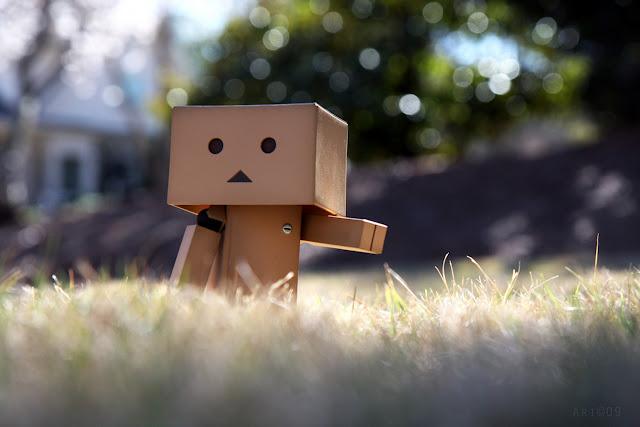 Hình ảnh người gỗ Danbo cô đơn lẻ loi tuyệt vọng