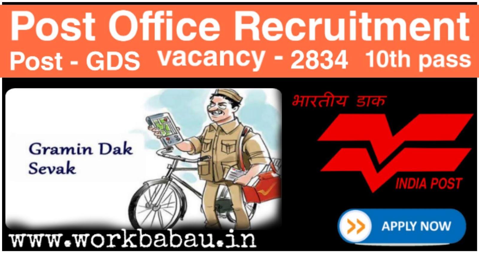 Post Office Recruitment 2020