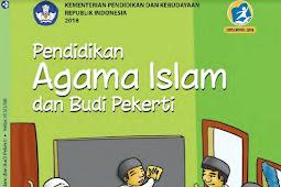 Download Buku Tematik Guru dan Siswa PAI Kelas 6 SD Kurikulum 2013 Revisi 2018