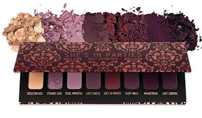 Melt Cosmetics Shes In Parties Palette