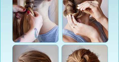Incredible Update French Braid Hairstyle Step By Step Tutorial Just Cool Tips Short Hairstyles Gunalazisus