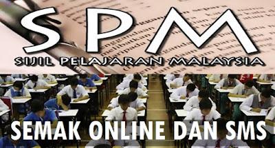Semakan Keputusan SPM 2016 Secara Online Dan SMS