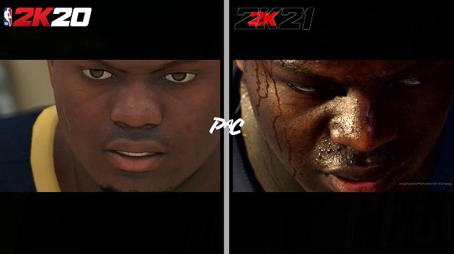 NBA 2K20 vs NBA 2K21