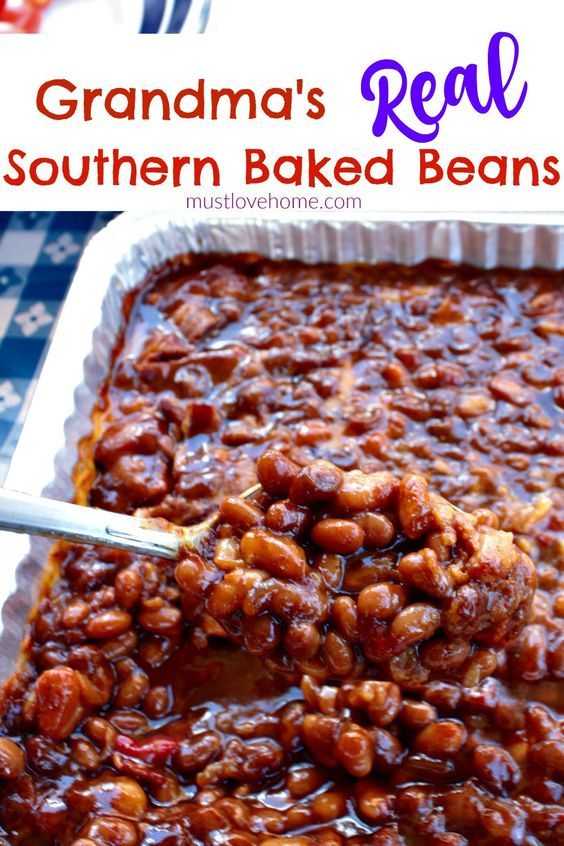 GRANDMA'S REAL SOUTHERN BAKED BEANS #recipes #dinnerrecipes #easyrecipes #neweasyrecipes #easydinnerrecipes #easyrecipesfordinner #neweasyrecipesfordinner #food #foodporn #healthy #yummy #instafood #foodie #delicious #dinner #breakfast #dessert #yum #lunch #vegan #cake #eatclean #homemade #diet #healthyfood #cleaneating #foodstagram