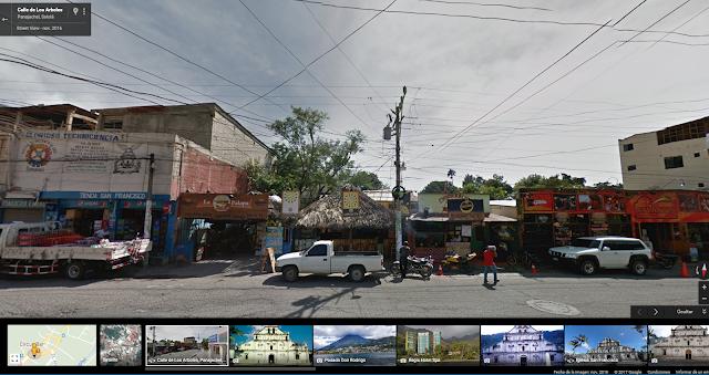 Google Street View Panajachel La Palapa Guatemala