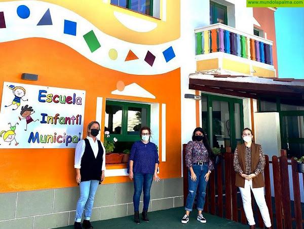 Fuencaliente pone en servicio la Escuela Infantil de Las Caletas tras lograr la homologación como centro oficial