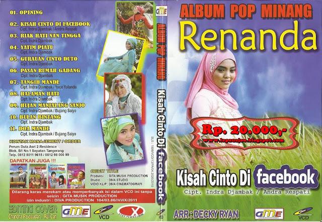 Renanda - Kisah Cinto Di Facebook (Album Pop Minang)
