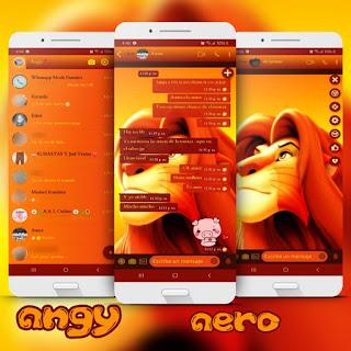 Lion Theme For YOWhatsApp & Fouad WhatsApp By angy fénix