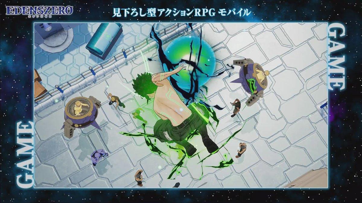 Edens Zero character art