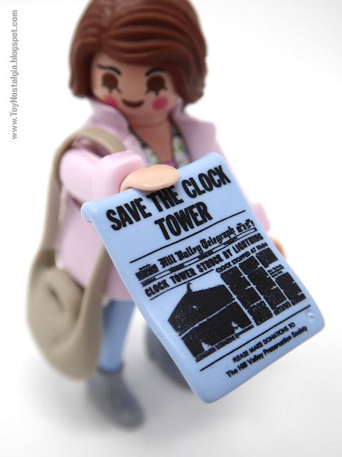 Jennifer Parker - SAVE THE CLOCK TOWER Playmobil Back To The Future - Advent Calendar (Playmobil Back To The Future - Calendario de Adviento)