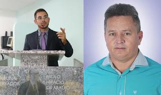 Mudança na Câmara Municipal de Picuí. Sai Fernando Croos e assume Inácio Mototaxi