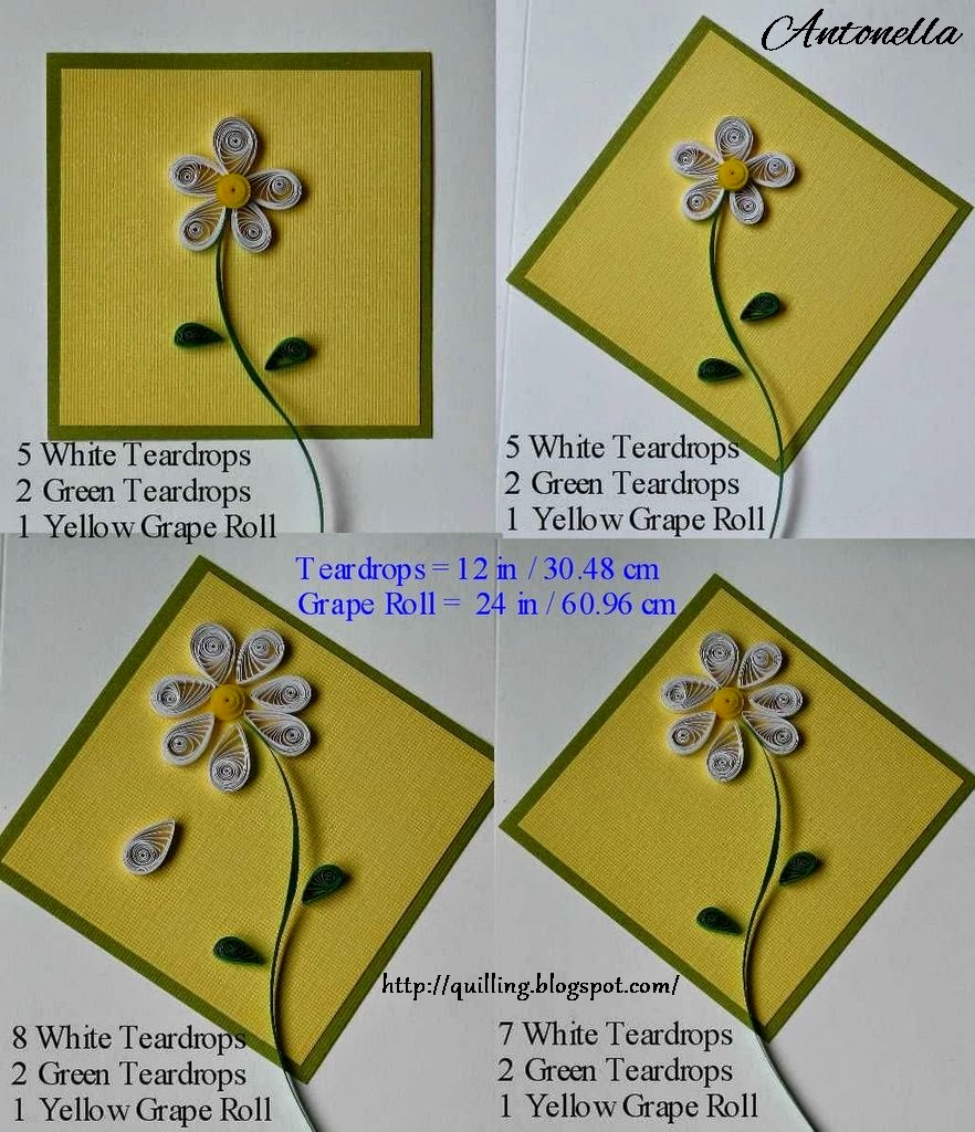Free Quilling Pattern from Antonella at Quilling.blogspot.com