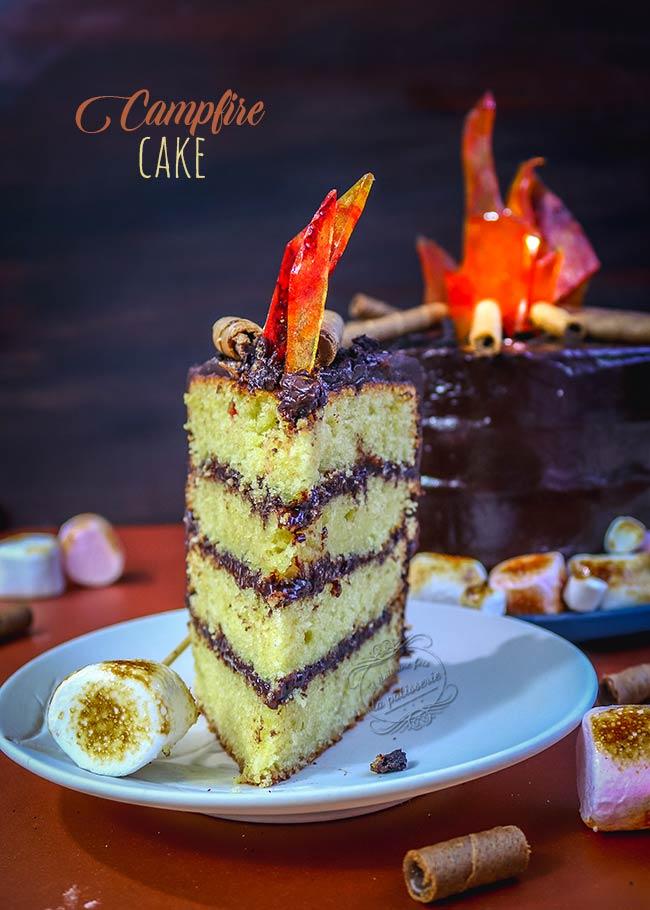 comment faire un campfire cake