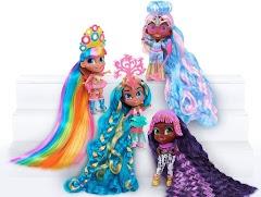 Четыре модных куклы Hairdorables Longest Hair Ever с самыми длинными волосами