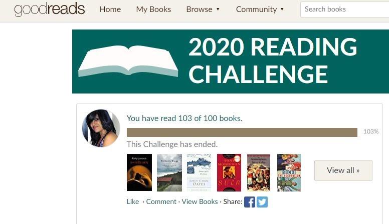 All The Books I Read In 2020: 103 Books !!!! #goodreads