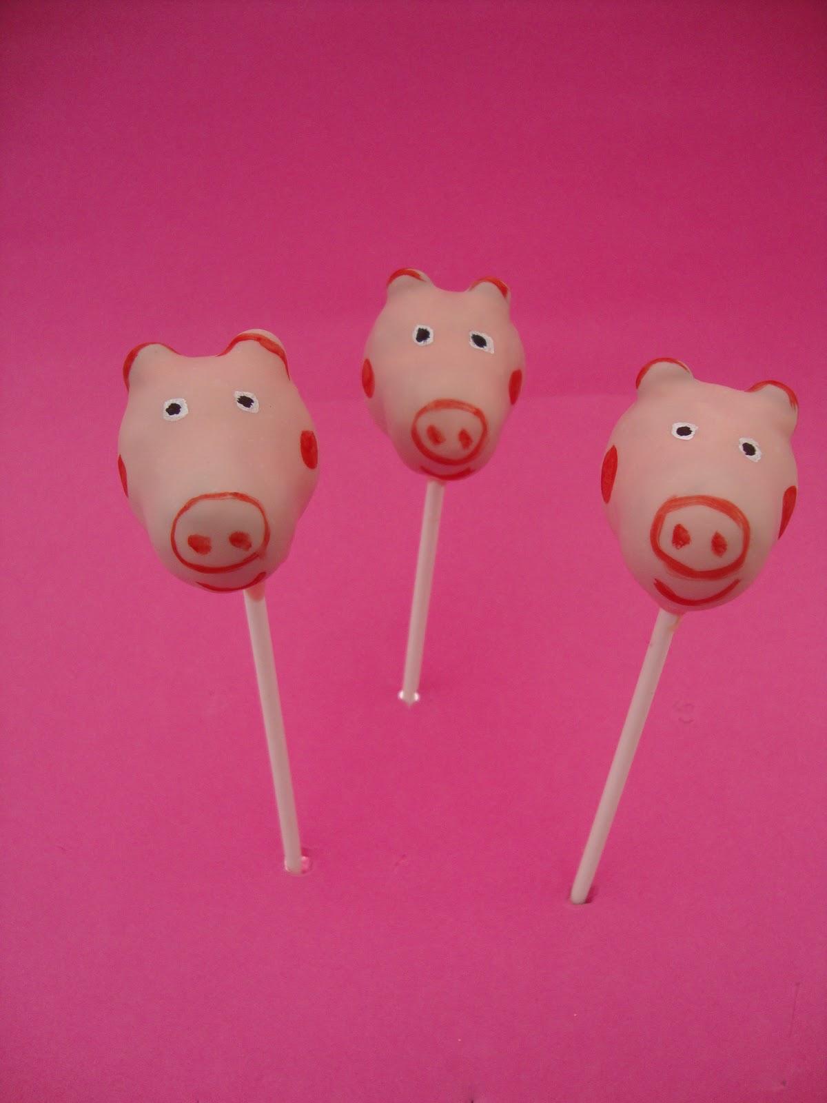 Popits Cake Pops Peppa Pig Cake Pops