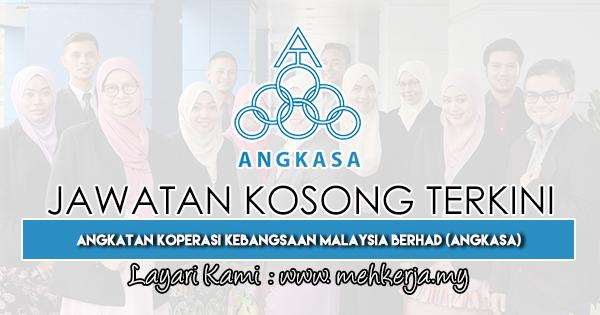 Jawatan Kosong Terkini 2019 di Angkatan Koperasi Kebangsaan Malaysia Berhad (ANGKASA)