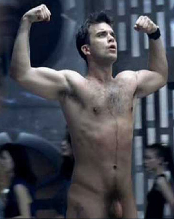 Robbie Williams Naked 89