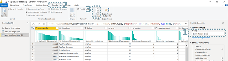 Guia passo a passo tratamento de dados com Power bi - figura 29