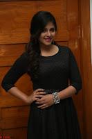Anjali in Black Short Dress at Chitrangada Movie Success Meet 215.JPG