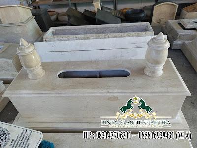 Desain Makam Custom Marmer