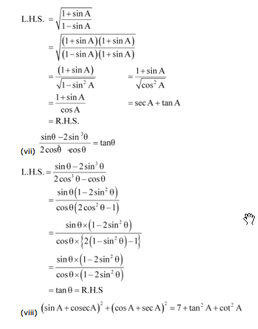Class 10 Ncert Maths Solutions Chapter 8 - ncert solutions