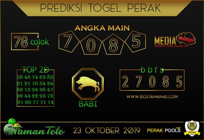 Prediksi Togel PERAK TAMAN TOTO 23 OKTOBER 2019