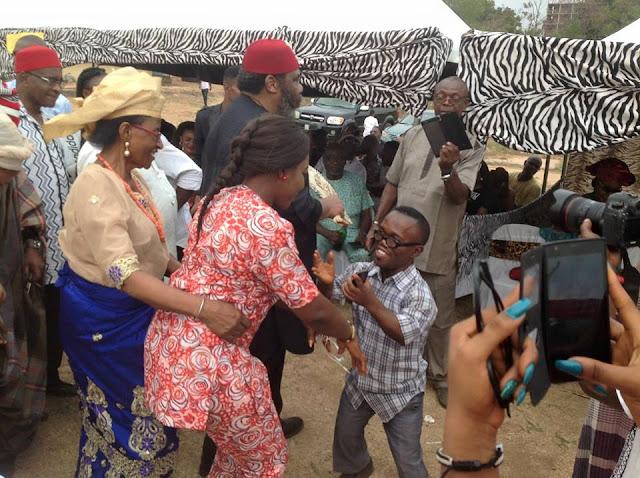 photos  pete edochie u2019s wife josephine edochie spotted at