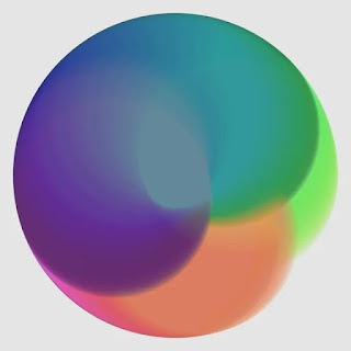 An example image of color gradation.