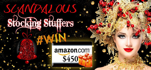 ENTER to #WIN the Scandalous Stocking Stuffers STUFF YOUR eREADER @Amazon GiftCard