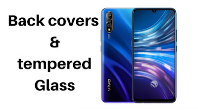 Vivo S1 Transparent, Rugged back covers & Tempered Glass under 500 or 7$