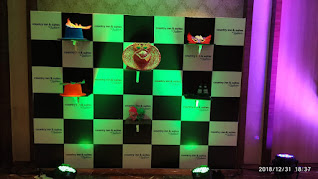 Selfie section in wedding banquet at country inn and suites By Radisson Navi Mumbai