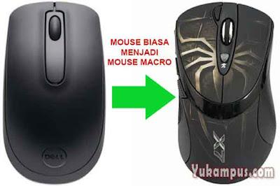 cara setting auto macro mouse biasa