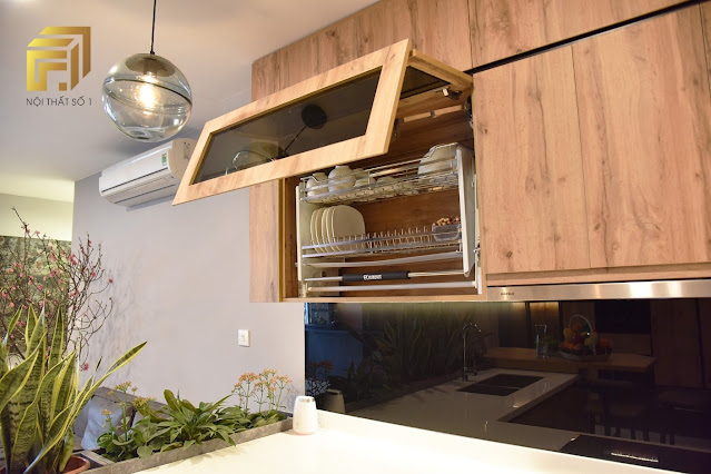 Hệ tủ bếp đa năng hỗ trợ tối đa người nội trợ trổ tài trong căn bếp