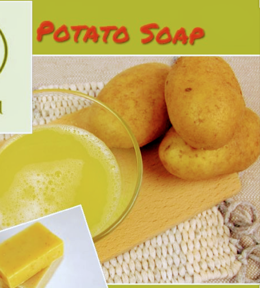 How To Make A Potato Whitening Soap
