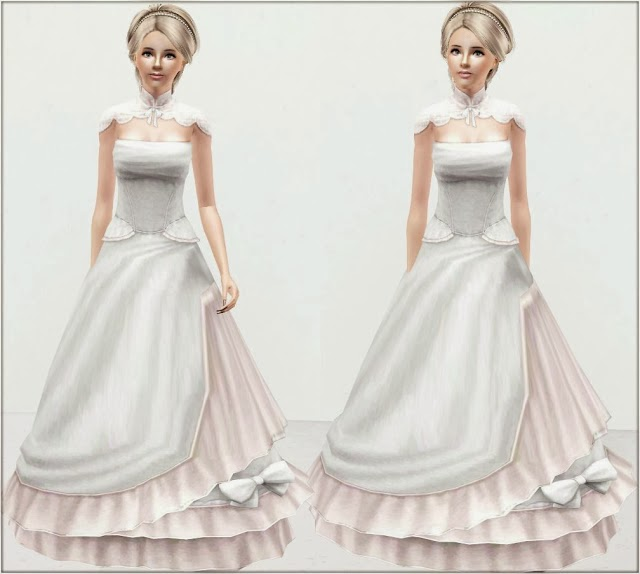 My Sims 3 Blog Wedding Dress 13 by Irida Sims