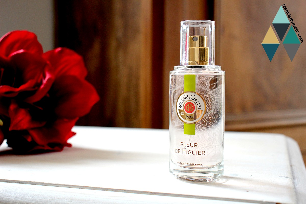 fragrance parfum fleur de figuier roger & gallet