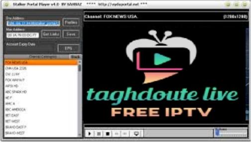 IPTV Stalker Player For  MAC adress for PC v4.0 /v3.0,Laptop,Windows 7,8,10