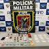 Em Boca do Acre, Polícia Militar detém casal por envolvimento com tráfico de drogas