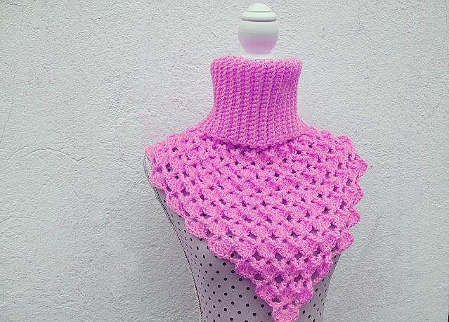 4 - Crochet Imagen Cuello Japonés a crochet y ganchillo por Majovel Crochet