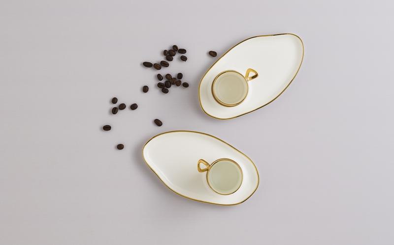 Limoges porselen beyazlığı ve estetiği